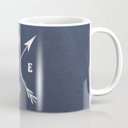 Compass arrows Coffee Mug
