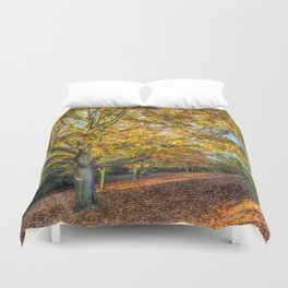 An English Autumn Duvet Cover