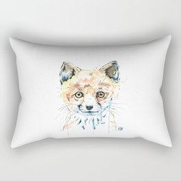 Peekaboo Fox Rectangular Pillow