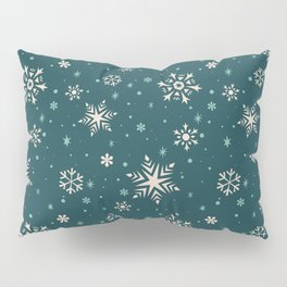 Snowflake Flurries Pillow Sham