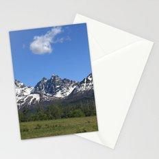 Pioneer Peak Stationery Cards
