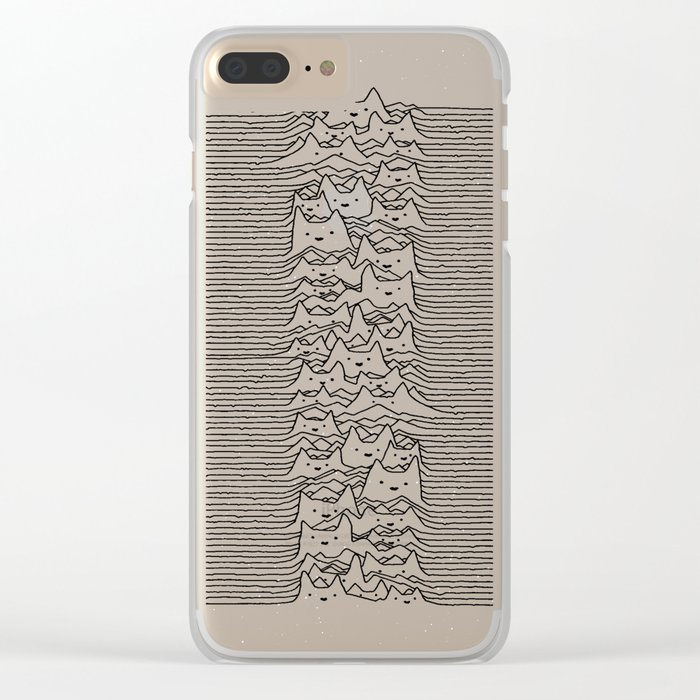 Furr Division White Clear iPhone Case