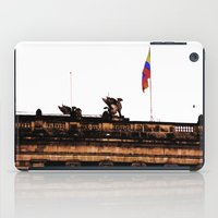 colombia iPad Cases featuring Plaza Of Bolivar, Colombia. by Alejandra Triana Muñoz (Alejandra Sweet