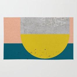 Sisi_ 2 abstract art Rug