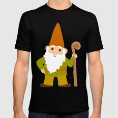 gnome sweet gnome Mens Fitted Tee 2X-LARGE Black