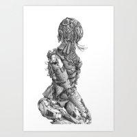 Automa I Art Print
