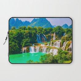 Ban Gioc Waterfall Detian Falls Vietnam Ultra HD Laptop Sleeve