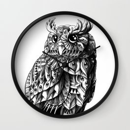 Owl 2.0 Wall Clock