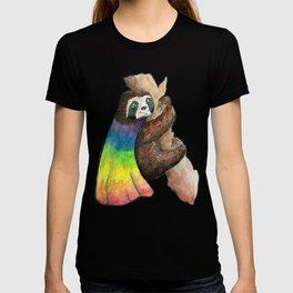 the gay sloth T-shirt