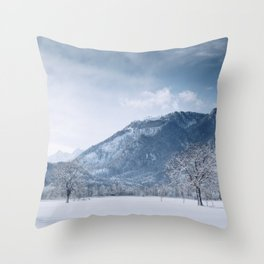 White Dreams Throw Pillow