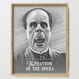 Lon Chaney - Eric Unmasked Serving Tray