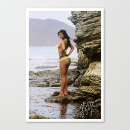 [ BIODIVERSE.CO ] Colombian Exotic Sexy Girl Canvas Print