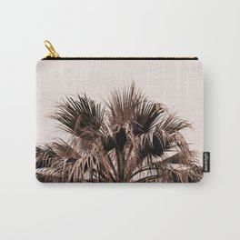 Palm tree top monochrome Carry-All Pouch