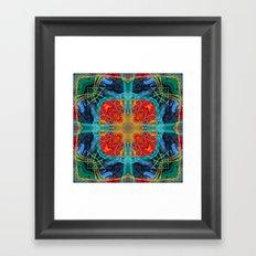 Mandala #5 Framed Art Print