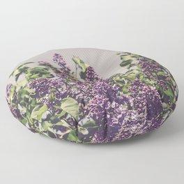 Wild Lilacs Floor Pillow