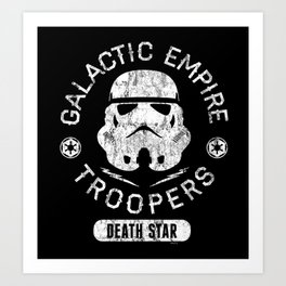 """Galactic Empire Troopers"" by Josh Ln Art Print"