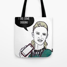 Digging Tote Bag