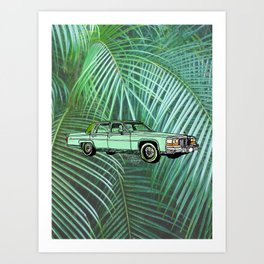 Caddy Art Print