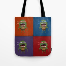 Screaming Turtles Tote Bag