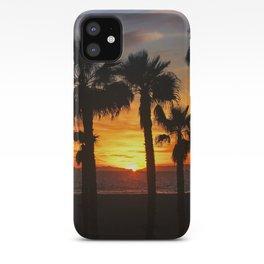 Sunset Through The Palms  1-5-20 iPhone Case