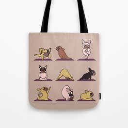 French Bulldog Yoga Tote Bag