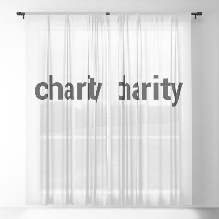 charity Sheer Curtain