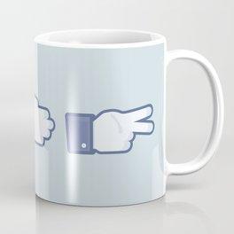 I Like Rock, Paper, Scissors Coffee Mug