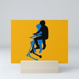 Landing Gears - Stunt Scooter Rider Mini Art Print