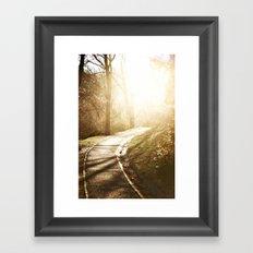 Road to heaven... Framed Art Print
