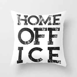 HOME OFF ICE - Fight the Epidemic - Trans Throw Pillow