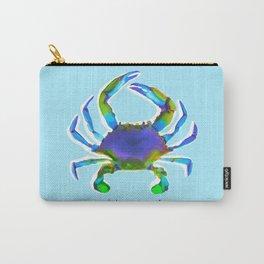 Blue Crab - Aqua Carry-All Pouch