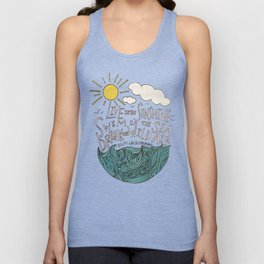 Emerson: Live in the Sunshine Unisex Tank Top