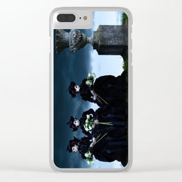 Mourning Clear iPhone Case