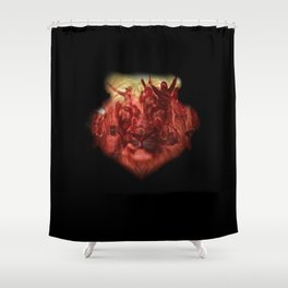 Ultras Lion Shower Curtain