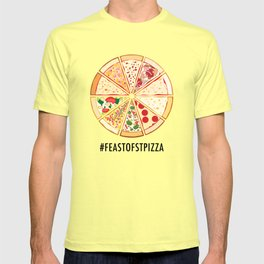 Feast of St. Pizza: Lebanon Edition T-shirt