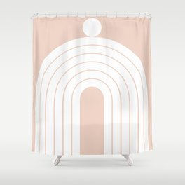 Abstraction_Balance_Minimalism_005 Shower Curtain