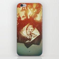 Claustrophobia iPhone & iPod Skin