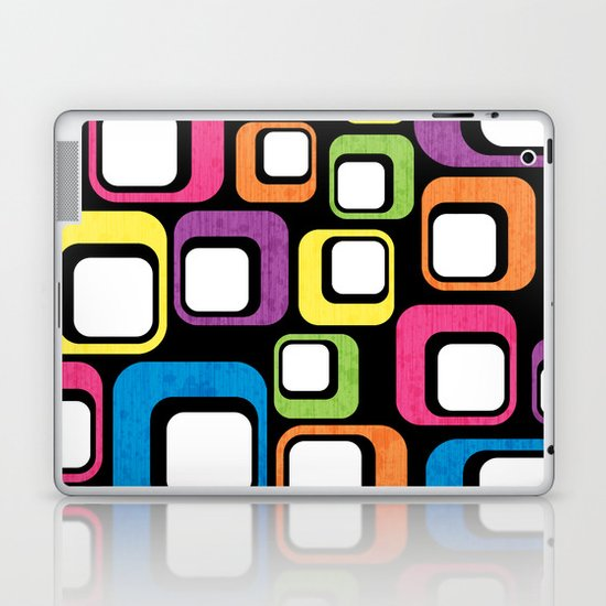 Retro All Sorts. Laptop & iPad Skin