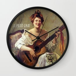 Le Savon. Vintage French Poster Wall Clock