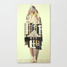 trois Canvas Print