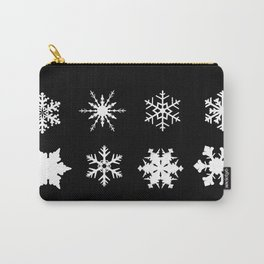 Snowflake Collection Carry-All Pouch