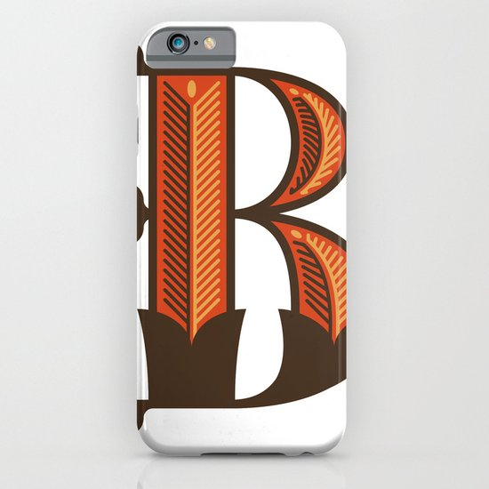 The Letter B iPhone & iPod Case