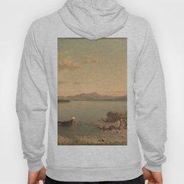 Lake George 1862 By Martin Johnson Heade | Reproduction Hoody