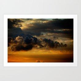 Gloomy Sky 0009 Art Print