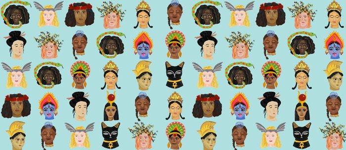 Goddesses Around the World Coffee Mug