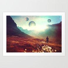 Martian. Art Print