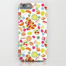 Rainbow candies iPhone 6s Slim Case