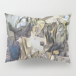 Day Dreaming - Abstract Study Pillow Sham