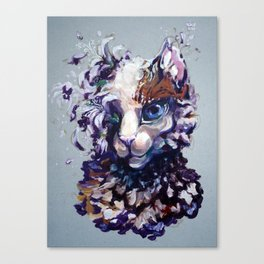 Brightheart Flowers Canvas Print