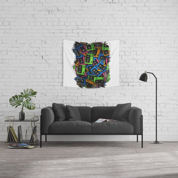 Cassete Wall Tapestry